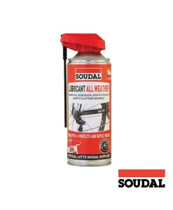 Bote Spray aceite Soudal 4 estaciones 400ml